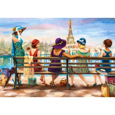 Puzzle Castorland-104468 Girls Day Out