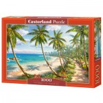 Puzzle  Castorland-104666 Pathway to Paradise