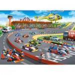 Puzzle  Castorland-111046 Formula Racing