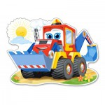 Puzzle  Castorland-120024 Funny Digger
