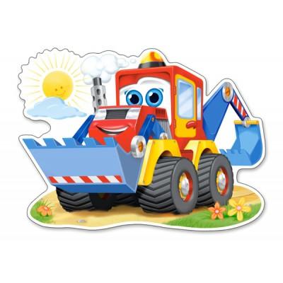 Puzzle Castorland-120024 XXL Pieces - Funny Digger