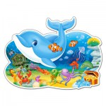 Puzzle  Castorland-120093 XXL Pieces - Underwater Friends