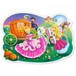 Puzzle  Castorland-120147 XXL Pieces - Cinderella