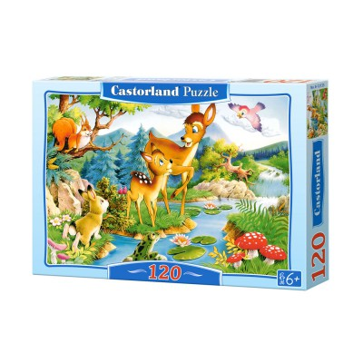 Puzzle Castorland-12725 Little Deer