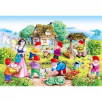 Puzzle  Castorland-12749 Snow White and the 7 Dwarves