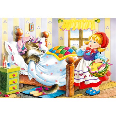 Puzzle Castorland-12756 Red Riding Hood
