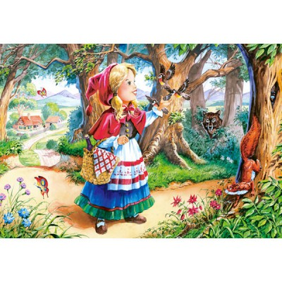 Puzzle Castorland-12770 Red Riding Hood