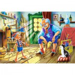 Puzzle  Castorland-12787 Pinocchio and Gepetto