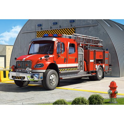 Puzzle Castorland-12831 Fire Truck