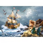 Puzzle  Castorland-13166 The Mysteries of the Sea