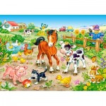 Puzzle  Castorland-13197 On the Farm