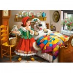 Puzzle  Castorland-13227 Little Red Riding Hood