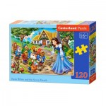 Puzzle  Castorland-13401 Snow White and the Seven Dwarfs
