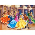 Puzzle  Castorland-13449 Princess Ball