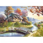 Castorland-150359 Jigsaw Puzzle - 1500 Pieces - Cottage
