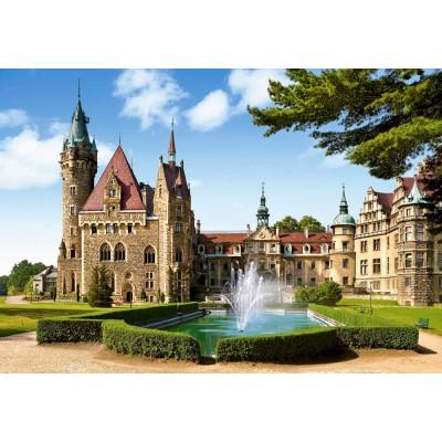 Castorland-150670 Jigsaw Puzzle - 1500 Pieces - Moszna Castle, Poland
