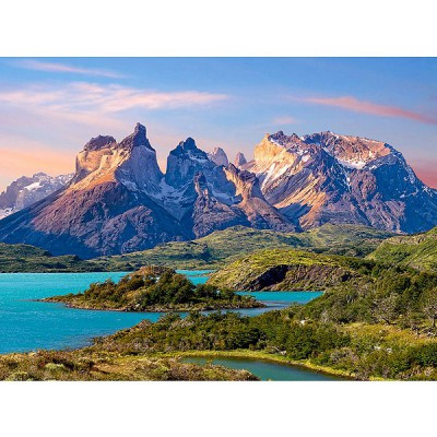 Castorland-150953 Jigsaw Puzzle - 1500 Pieces - Torres del Paine National Park in Patagonia, Chile