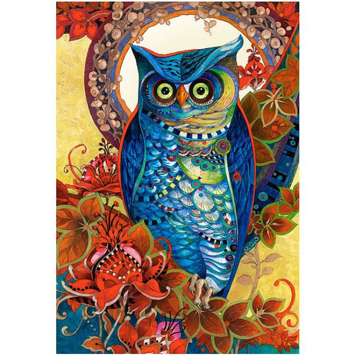 Jigsaw Puzzle - 1500 Pieces - David Galchutt : Owl