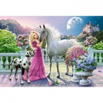 Puzzle  Castorland-151301 My Friend Unicorn
