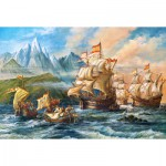 Puzzle  Castorland-151349 An Adventure to the New World