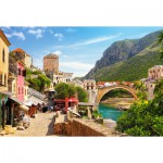 Puzzle  Castorland-151387 The Old Town of Mostar