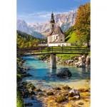 Puzzle  Castorland-151615 Ramsau, Germany