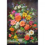 Puzzle  Castorland-151622 September Flowers