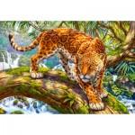 Puzzle  Castorland-151752 Sneaking Jaguar