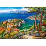 Puzzle  Castorland-151776 Côte d'Azur, France