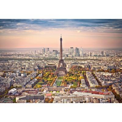 Puzzle Castorland-151837 Cityscape of Paris