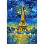 Puzzle  Castorland-151851 Paris Celebration