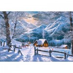 Puzzle  Castorland-151905 Snowy Morning