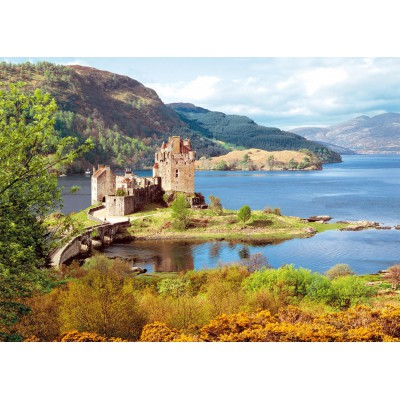 Castorland-200016 Jigsaw Puzzle - 2000 Pieces - Scottish Castle