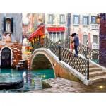 Puzzle  Castorland-200559 Venice Bridge