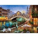 Puzzle  Castorland-200689 Grand Canal Bistro, Venice