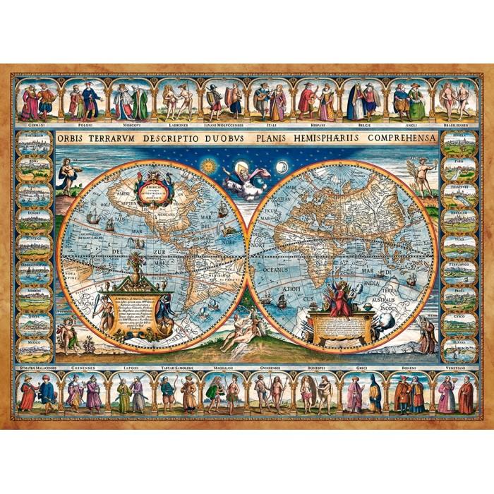 Jigsaw Puzzle - World Maps and Mappemonde - Jigsaw Puzzle.co.uk