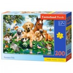 Puzzle  Castorland-222063 Summer Pals