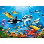 Puzzle  Castorland-222094 Tropical Underwater World
