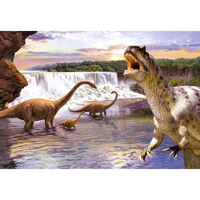 Puzzle Castorland-26999 Dinosaurs : Diplodocus