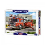 Puzzle  Castorland-27040 Fire Truck