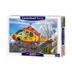 Puzzle  Castorland-27248 Helicopter Rescue