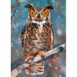 Puzzle  Castorland-27347 Great Horned Owl