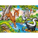 Puzzle  Castorland-27446 Forest Animals