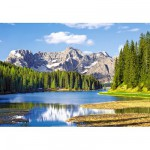 Castorland-300198 Jigsaw Puzzle - 3000 Pieces - Misurina Lake