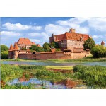 Castorland-300211 Jigsaw Puzzle - 3000 Pieces - Malbork Castle, Poland
