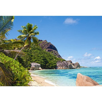 Castorland-300228 Jigsaw Puzzle - 3000 Pieces - Tropical Beach, Seychelles