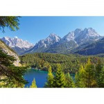 Puzzle  Castorland-300242 Austria: Lake in the Alps