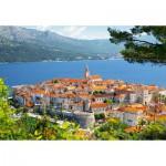 Puzzle  Castorland-300266 Croatia : Korcula
