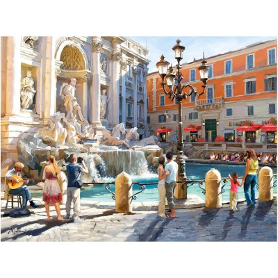 Puzzle Castorland-300389 The Trevi Fountain