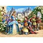 Puzzle  Castorland-30040 Princess and Knight